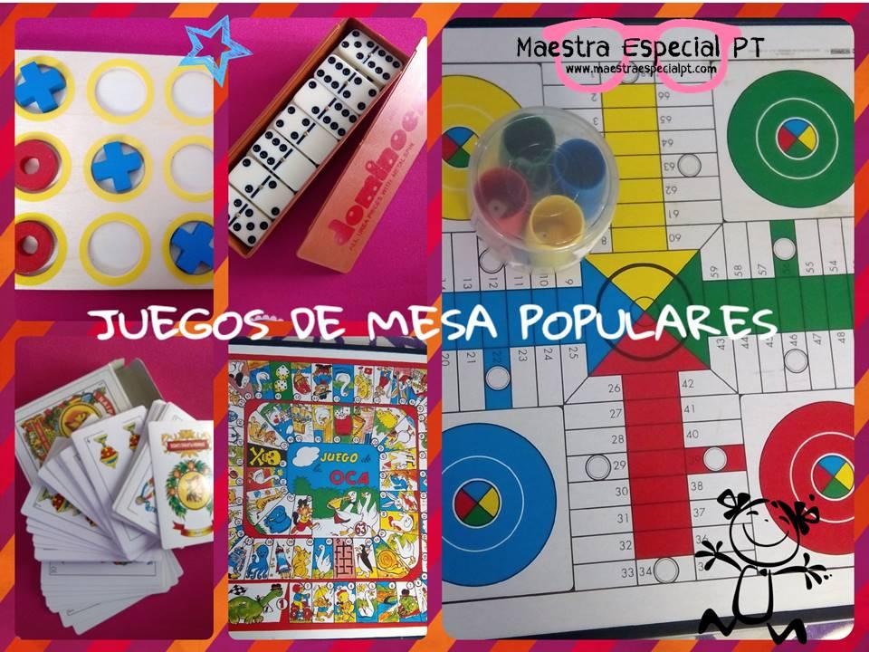 Juegos De Mesa Opcion 5 Maestra Especial Pt